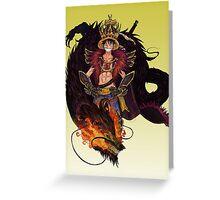 Luffy Greeting Card