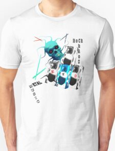 MvS-Dcore white T  Unisex T-Shirt