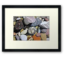 Coastal Rocks Framed Print