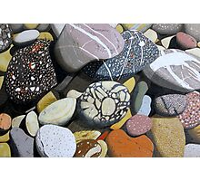Coastal Rocks Photographic Print