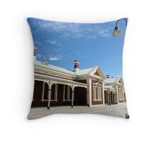 Wagga Wagga Rail Station Throw Pillow