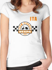 Vespa Team Women's Fitted Scoop T-Shirt
