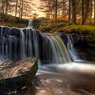 Talybont Waterfall - January 2010 by antonywilliams