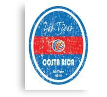 World Cup Football - Costa Rica Canvas Print