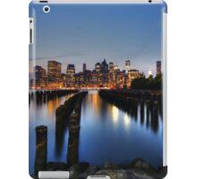 Blue Manhattan iPad Case/Skin