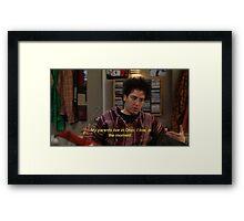 OHIO Framed Print