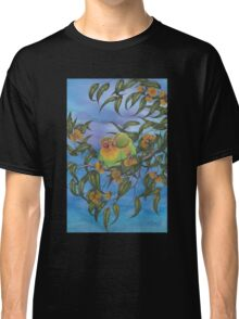 """Two Aussie Love Birds"" Classic T-Shirt"