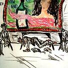 Sûr le cay de métro á Paris 1976 by patjila