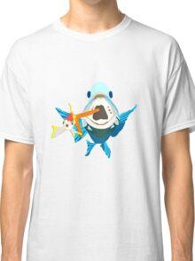 Big Fish Eat Little Fish Classic T-Shirt