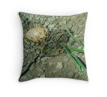 Hatched and about to Hatch. Throw Pillow