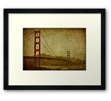 Fading Ideation Framed Print