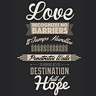 Love Recognizes No Barriers by tdjorgensen