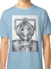 Cyberman Pencil Drawing Classic T-Shirt