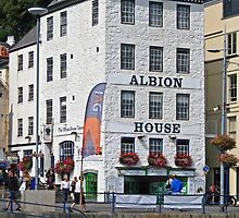 Albion House Tavern, St Peter Port by RedHillDigital