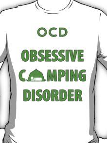 OCD Obsessive Camping Disorder Funny T Shirt T-Shirt