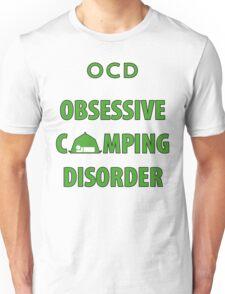 OCD Obsessive Camping Disorder Funny T Shirt Unisex T-Shirt