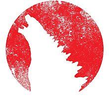 Godzilla by tdjorgensen