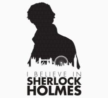I Believe in Sherlock Holmes One Piece - Short Sleeve