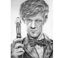Matt Smith Portrait - 11th Doctor Photographic Print