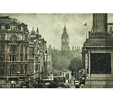 Trafalga Showers Photographic Print