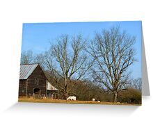 """""""In The Dead Of Winter"""" Greeting Card"""