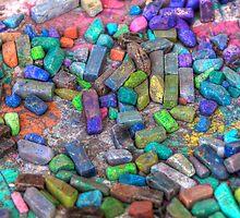 Pastel Chalks- sea tones by njordphoto