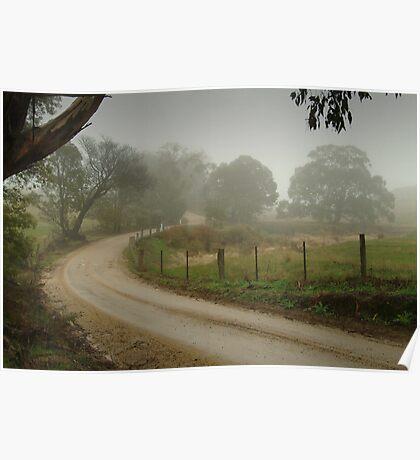 Prendegast Lane,Cobaw,Macedon Ranges Poster