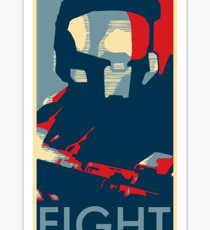 FIGHT - Halo Campaign Sticker