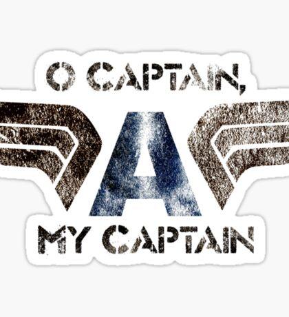 O' Captain Sticker