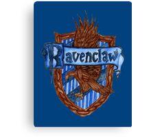 Ravenclaw House Crest Canvas Print