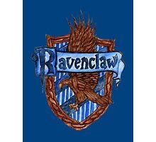 Ravenclaw House Crest Photographic Print