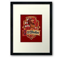 Gryffindor House Crest Framed Print