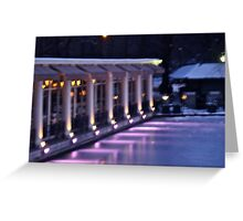 Boathouse Central Park Greeting Card