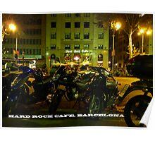 Hard Rock Cafe, Barcelona Poster