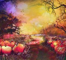 Pumpkin patch'... by Valerie Anne Kelly