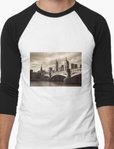 Princess Bridge Men's Baseball ¾ T-Shirt