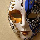 Venetian Porcelain Mask by Dana Roper