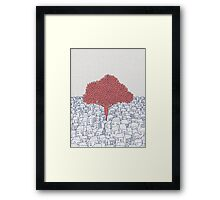 Nature always wins! Framed Print