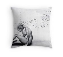 The Comfort She Craves Throw Pillow