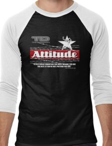 attitude Men's Baseball ¾ T-Shirt