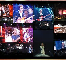Cliff Richard Concert Melbourne..Collage by judygal