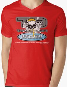 encouragement Mens V-Neck T-Shirt