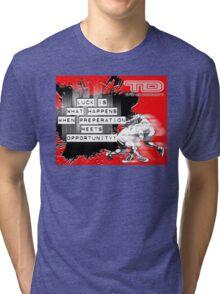luck Tri-blend T-Shirt