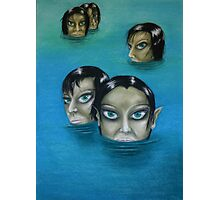 WATER NYMPHS Photographic Print