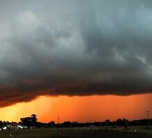 Storm Sunset by craigfire