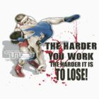 the harder you work by takedown
