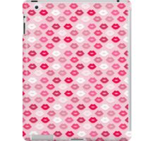Pink Kiss Pattern iPad Case/Skin