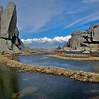 Rocky scene near Ramshead by rolpa