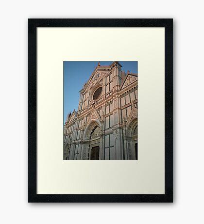 Florentine History Framed Print