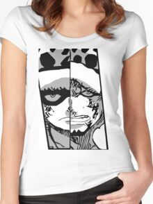 Trafalgar Law Past and Future II Women's Fitted Scoop T-Shirt